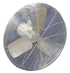 24 Inch S.S. Washdown Duty Fans With Epoxy Coated Motor And S.S. Blade 24CFO-EWDS