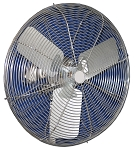 24 Inch Stainless Steel Washdown Duty Fans With 3 Phase 50/60Hz S.S. Motor And S.S. Blades 24CFO-SWDS-3