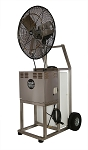 Aquality Port-A-Chill Stainless Steel 20 Gallon Portable High Velocity Mist Fan PAC-24HV-Discontinued