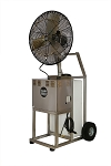 Aquality Port-A-Chill Stainless Steel 20 Gallon Portable Oscillating Mist Fan PAC-24OSC-Discontinued