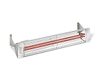 Infratech WD Series Dual Element 5000 Watt 39 Inch Electric Infrared Radiant Heaters